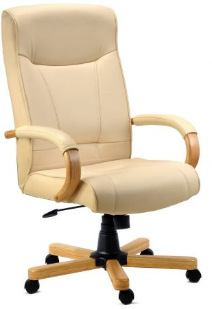 Knightsbridge Cream Office Chair