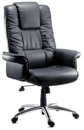 Lexie Black Office Chair