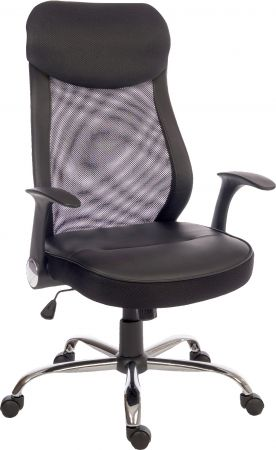 Curb Black Office Chair