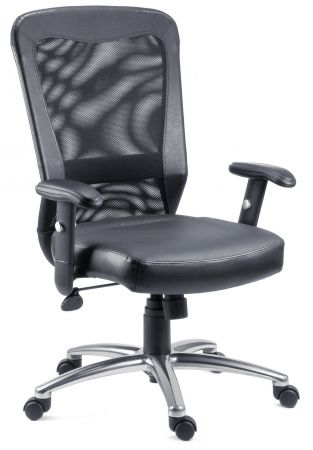 Brissel Black Office Chair