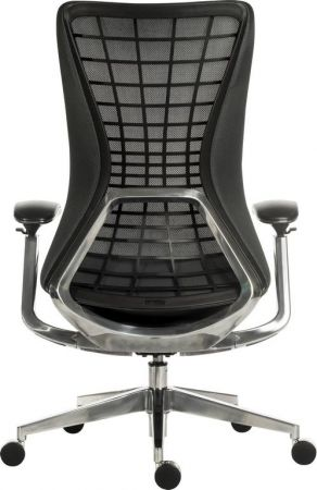 Qusec Executive Mesh Black Office Chair