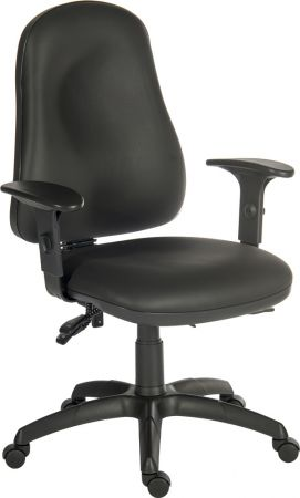 Extring Comfort PU Black Office Chair