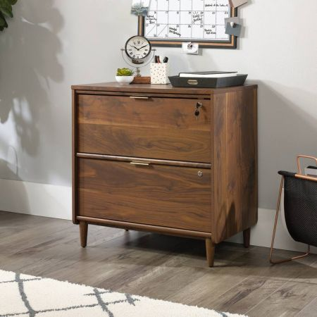 Clifford Place Lateral Filer Walnut