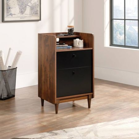 Hampshire Park Storage Stand Walnut