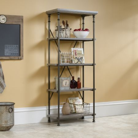 Candid Heights 4 Shelf Bookcase Oak