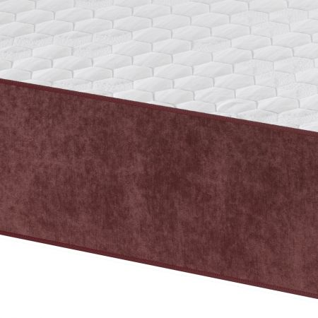 Toppol 175mm Reflex Foam 25mm Memory Foam 50mm GelFlex Extra Body Support Mattress