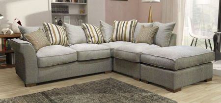 Hurracan Corner Scatter Sofa And Footstool