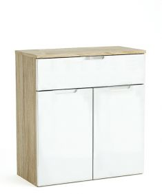 Clio 2 Door 1 Drawer Sideboard