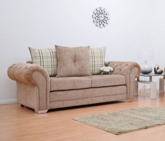 Grampian 3 Seater Luxurious Fabric Sofa