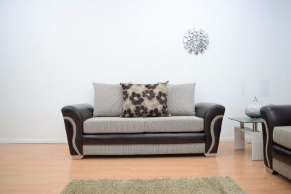 Lexi 3 Seater Fabric Hand Crafted Sofa