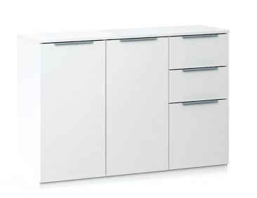 Chelsea 3 Door 2 Drawer Sideboard - White
