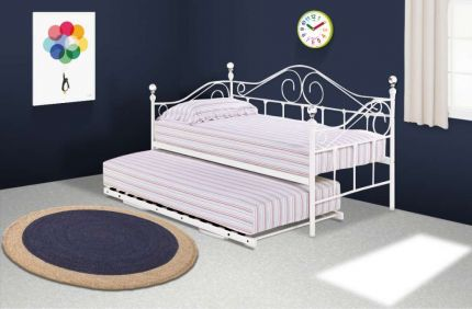 Crystal Day Bed & Trundle