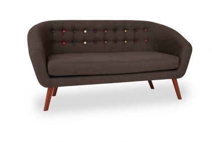 Anja Sofa- Dark Grey