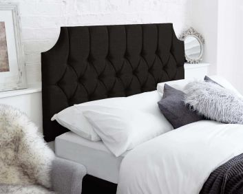 Hamilton Headboard Malham Weave Fabric Handcrafted in the UK Available in All Sizes