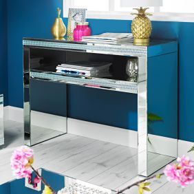 Leeds Mirrored Console Table