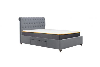 Kieran Fabric Storage Bed