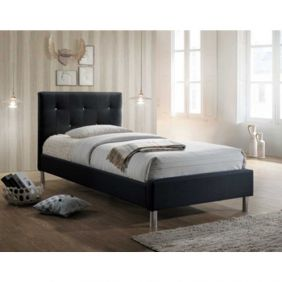 Eden Diamante Single Fabric Bed