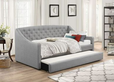 Samona Fabric Daybed With Trundle
