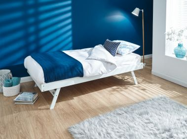 Matisra Wooden Trundle Bed Only