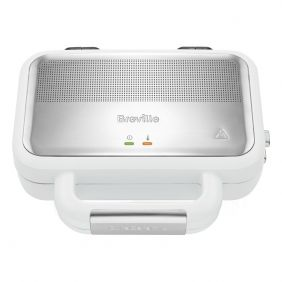 Breville VST074 Sandwich Toaster with 850W Power in White