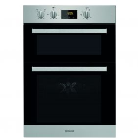 Indesit IDD6340IX 111L Built-In Electric Double Oven