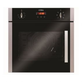 CDA SC620SS 56L Built-In Electric Single Oven
