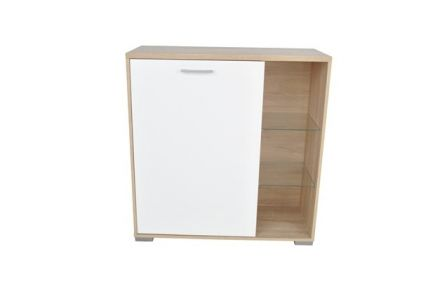 Homeline Sideboard - White and Oak