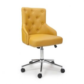 Javier Leather Match Office Chair