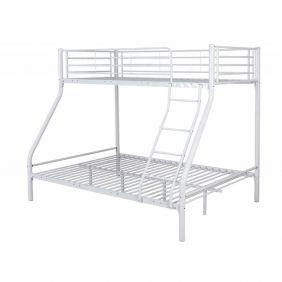 Montreal White Triple Bunk Bed
