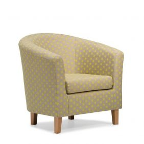 Cape Dot Tub Chair - Lemon