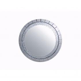 Diamante Round Wall Mirror