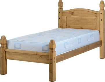 Darwin Single Bed Low Foot End in Pine