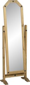Darwin Cheval Mirror in Pine