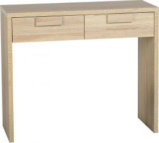 Camberwell 2 Drawer Dressing Table in Sonoma Oak Veneer