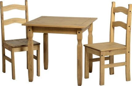 Stanton Dining Set in Pine