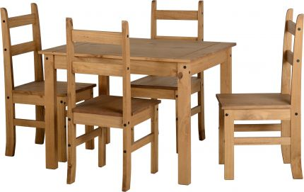 Darwin Budget Dining Set in Pine