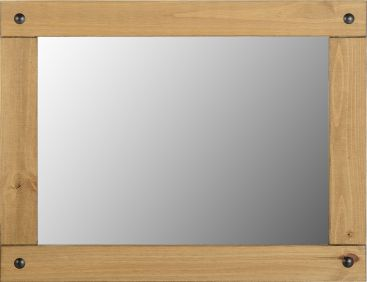 Darwin Large Wall Mirror in Pine