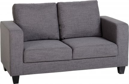 Corsair Two Seater Sofa-in-a-Box in Grey Fabric