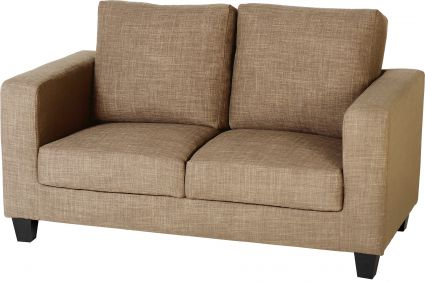 Corsair Two Seater Sofa-in-a-Box in Sand Fabric