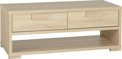Camberwell 2 Drawer Coffee Table in Sonoma Oak Veneer