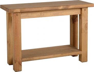 Chester Console Table in Pine