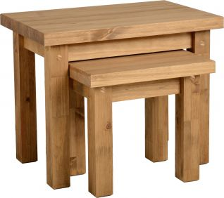 Chester Nest of 2 Tables in Pine