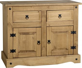 Darwin 2 Door 2 Drawer Sideboard in Pine