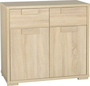 Camberwell 2 Door 2 Drawer Sideboard in Sonoma Oak Veneer