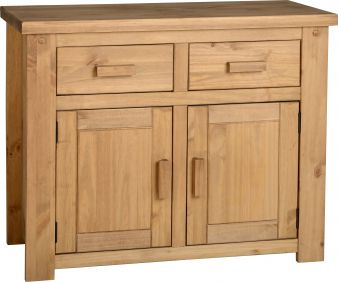 Chester 2 Door 2 Drawer Sideboard in Pine