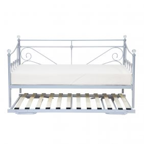 London Day Bed Silver