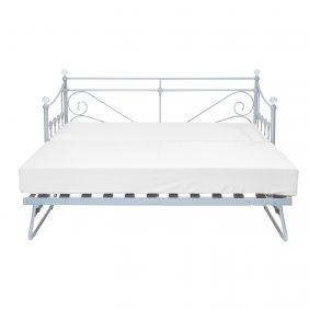 London Trundle Bed Silver