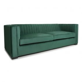 Xander 3 Seater Brushed Velvet Sofa