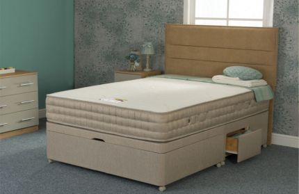 Natural Bamboo 1500 Orthopaedic Mattress 10 inch - 3ft, 4ft, 4ft6, 5ft, 6ft Size