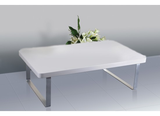 Image of Accent Coffee Table - High Gloss White